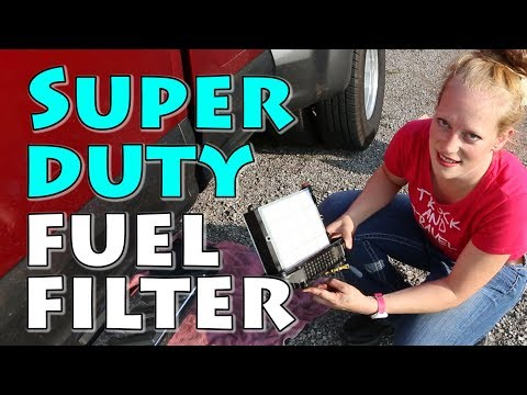 How To Change Fuel Filters On A 2017 And Newer Ford Super Duty Power Stroke Diesel