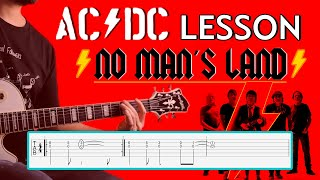 AC/DC - No Man's Land Guitar Lesson with TABS