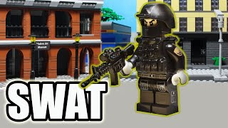 Lego SWAT – Story of One Battle – Full Story | Stop Motion