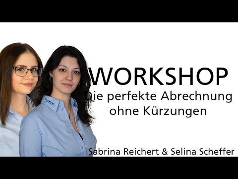 Workshop: Die perfekte Abrechnung (Ohne Kürzungen)