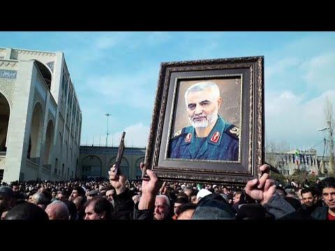 عشرات الآلاف يتظاهرون في طهران احتجاجا على -الجرائم- الأمريكية…  - 20:58-2020 / 1 / 3