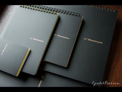 Maruman Mnemosyne Notebook Overview