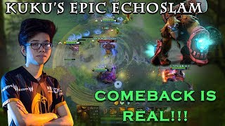 Kuku's EPIC Echo Slam Comeback | Kuala Lumpur Major TNC vs Vici Gaming Highlights