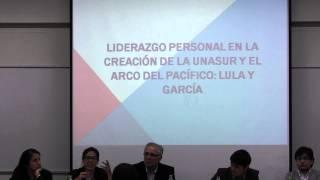 """Conversatorio: """"Unasur y la Alianza del Pacífico: convergencias y divergencias"""". Parte 1"""