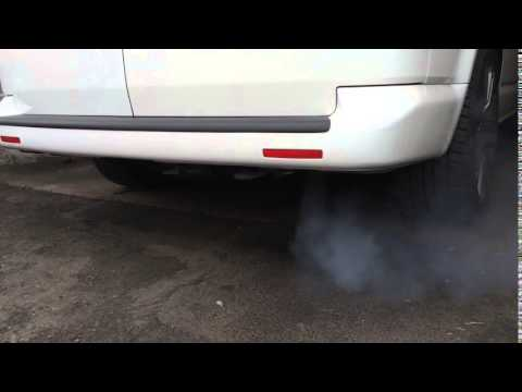 VW Transporter T5 DPF clean and regeneration.