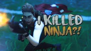 I killed NINJA in random duos?!
