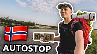 Autostopem do Norwegii 2017 | PU