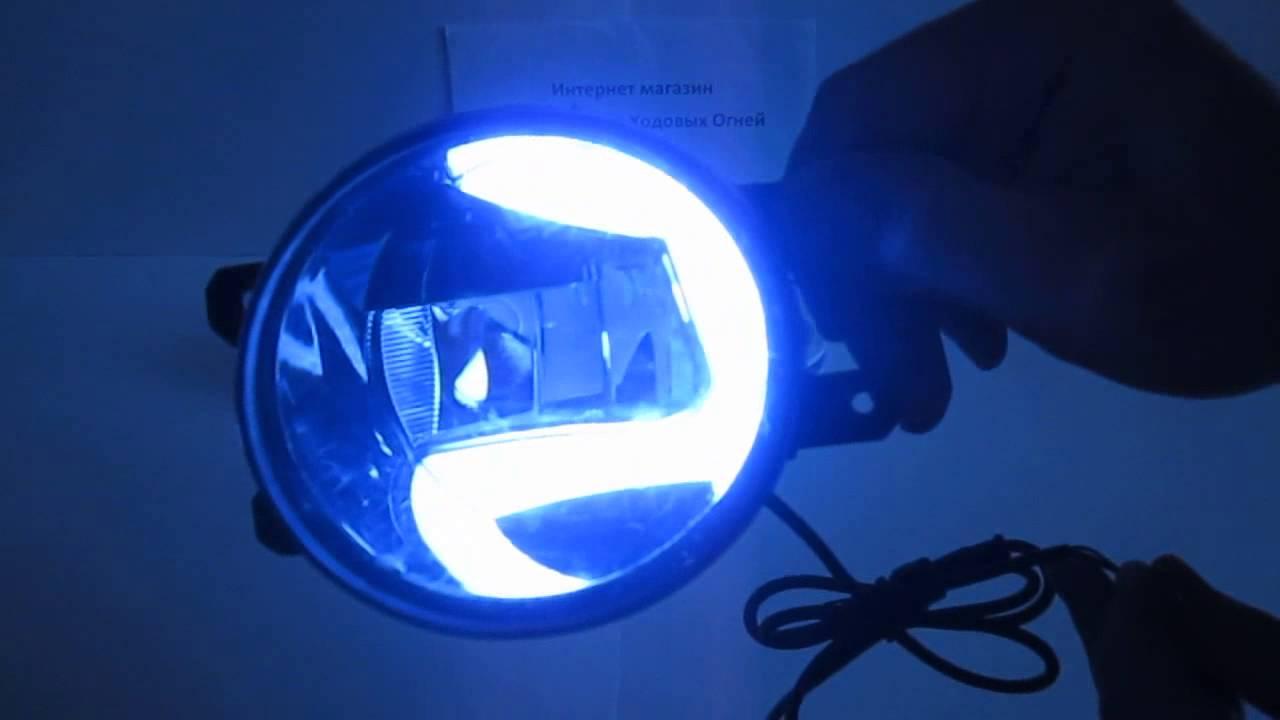 OSRAM LED Fog Lamp DRL - YouTube