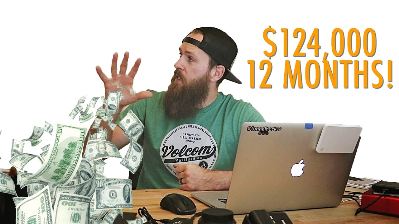 Business Flow-Chart: How We Made $124,000 In 12 Months Online!
