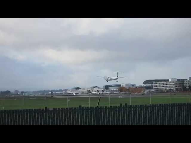 Horizon Air Q400 (N423QX) landing KPDX