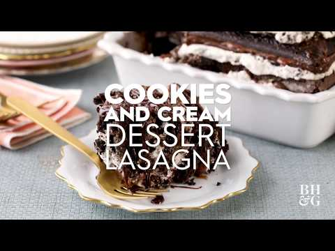 Cookies And Cream Dessert Lasagna | Eat This Now | Better Homes & Gardens