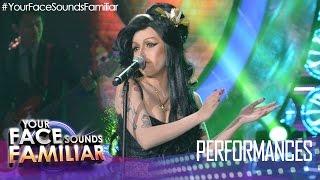 Your Face Sounds Familiar: KZ Tandingan as Amy Winehouse -