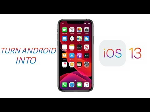 Turn Your Any Android Into iPhone (iOS 13)