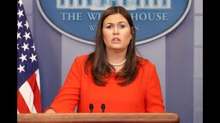 🔴WATCH: White House Press Briefing with Press Secretary Sarah Sanders - 2/12/18