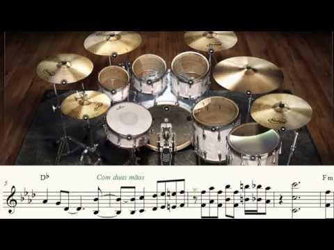 Ginga Ookami Jaspion - Encerramento Fantástico Jaspion, MIDI Bateria e Partitura