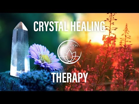 Free Spirit Crystal Healing Therapy Music – Clensing Gemstone, Reiki Healing HD