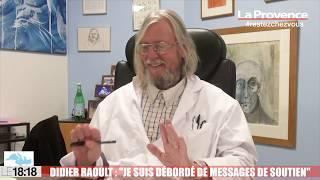 """Le 18:18 - Didier Raoult : """"Je suis débordé de messages de soutien"""""""
