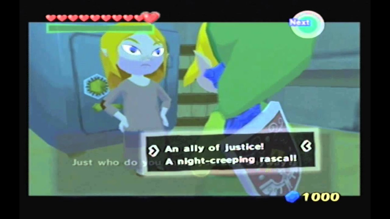 wind waker poor girl
