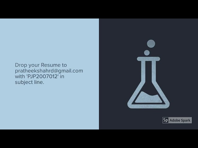 Chemist (Female) Vacancy | Manufacturing Company Job | Job Vacancy in Kanjikode, Palakkad, Kerala