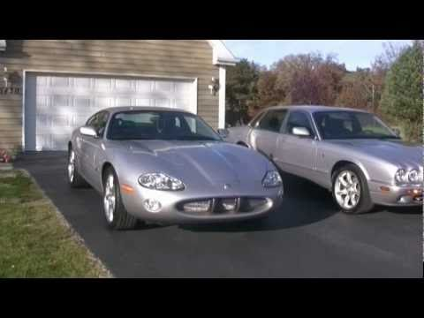 2000 jaguar xjr and 2001 xkr silverstone youtube. Black Bedroom Furniture Sets. Home Design Ideas