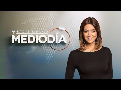 EN VIVO:  Noticias Telemundo Mediodía con Felicidad Aveleyra