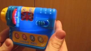 Видеообзор детская игрушка - Видеокамера-Проектор (kidtoy.in.ua)(Видеокамера-Проектор, 6 дисков со слайдами, в коробке Заказать: https://vk.com/photo-47667519_350278945 Интернет-магазин детск..., 2014-11-22T10:35:22.000Z)