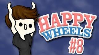 FUCK MOUNTAIN   Happy Wheels Funny Moments #8