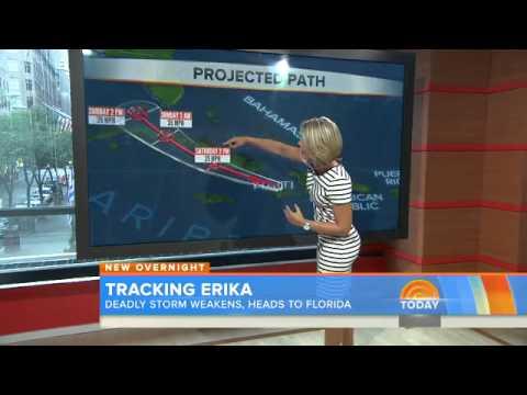 Deadly Erika Weakens, No Longer a Tropical Storm; Florida Still Stays on Alert
