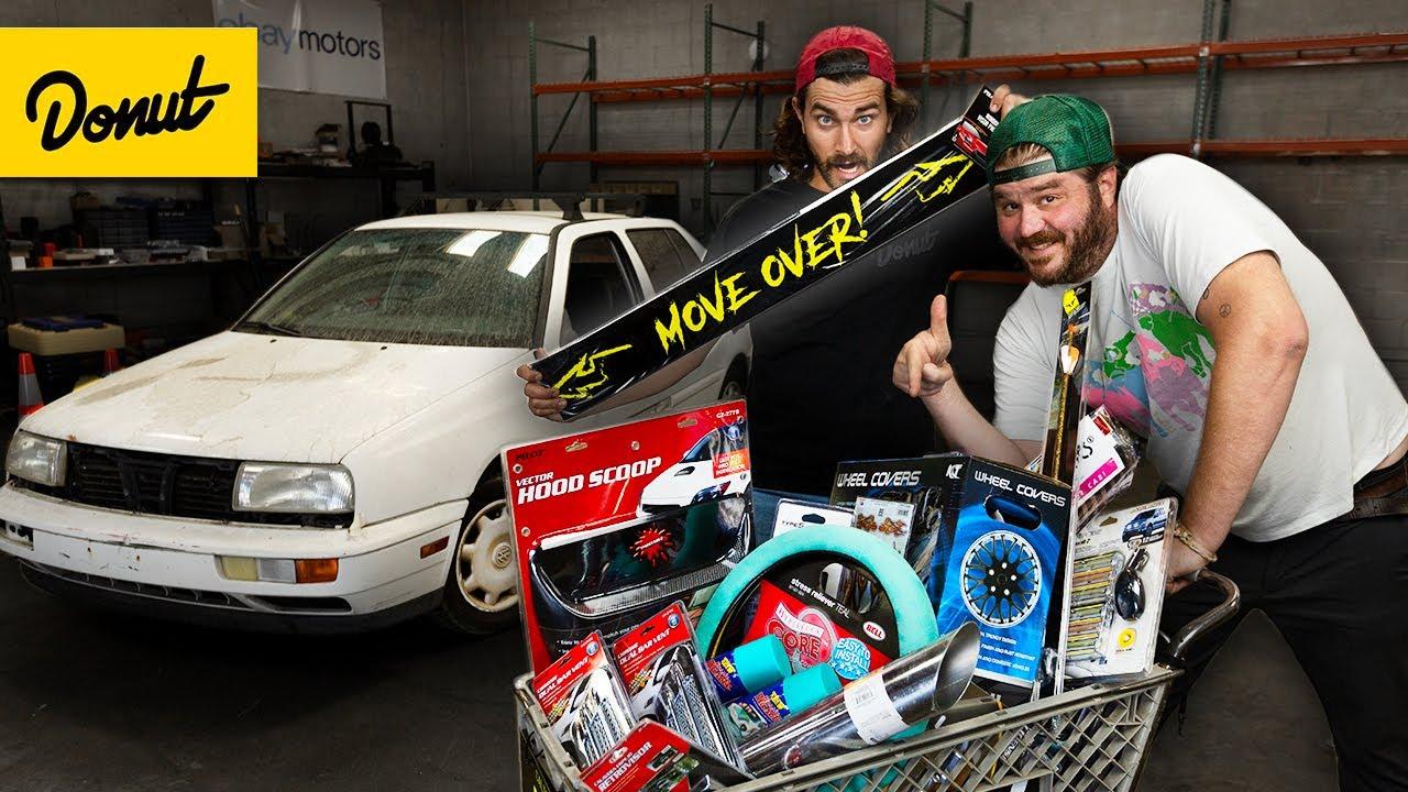 $1000 Auto Parts Store Makeover