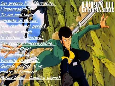 Sigla Hello Lupin+Testo