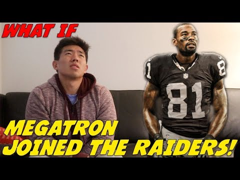 """WHAT IF"" MEGATRON, CALVIN JOHNSON, JOINED THE RAIDERS!?"