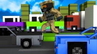 Dansk Minecraft: HOPPER PÅ BILER?!
