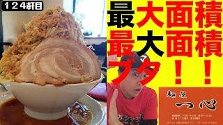 佐野ラーメンのお店で出される二郎系は豚が個性あり過ぎる件。【麺屋一心】
