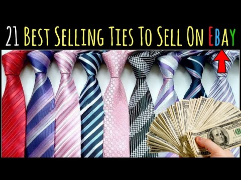 What Sells On Ebay - 21 Ties That Sell On Ebay For Ridiculous Profits...