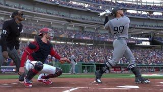 MLB Today 7/25 - New York Yankees vs Washington Nationals Full Game Highlights (MLB 20)