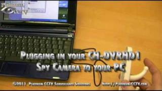 Ch-dvrhd1 - Plug Into Pc With Usb - Coat Hook Spy Camera