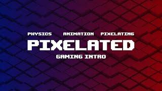 Cinema 4D Tutorial: Pixelated Gaming Intro