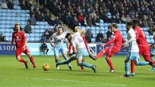 HIGHLIGHTS: Coventry City 1-2 MK Dons