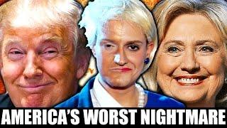 donald trump vs hillary clinton parody musical debate news america s worst nightmare