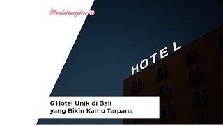 Gambar cover 6 Hotel Unik di Bali yang Bikin Kamu Terpana