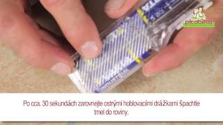 Mini-set pro rychlou a jednoduchou opravu obkladů a dlažby