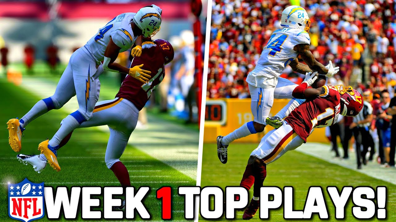 Download RECREATING THE TOP 10 PLAYS FROM NFL WEEK 1! Madden 22 Challenge