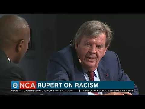 Johann Rupert on racism