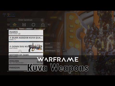 Kuva Weapons