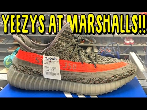 YEEZY V2 FOUND AT MARSHALLS!!!! SNEAKER SHOPPING IN THE USA!