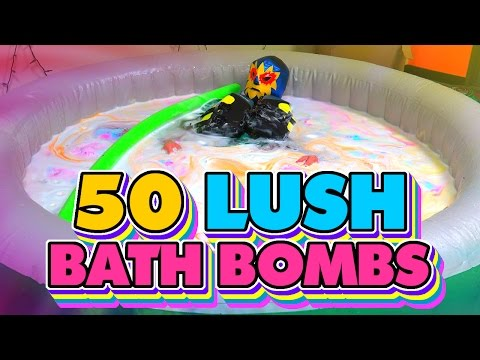 50 Lush Bath Bombs