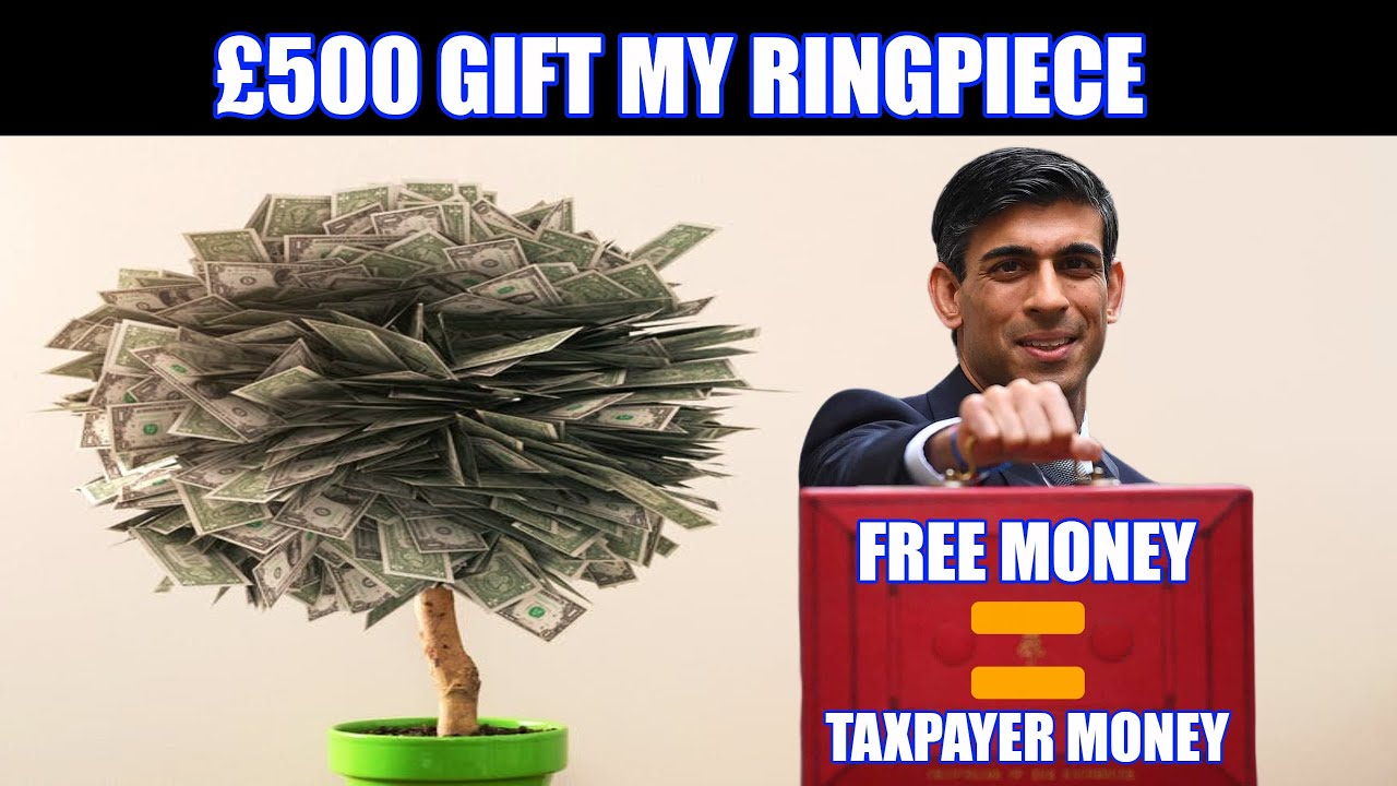 "Rishi Sunak Considers Giving Everyone A ""FREE"" £500 From The Magic Money Tree"