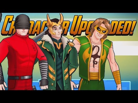 RANKING UP OUR BOY SUPER HEROES   Marvel Avengers Academy (iOS/Android) Gameplay Part 156