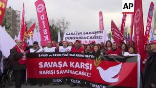 Istanbul Demo Against Crackdown On Kurds