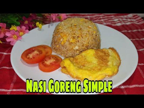 Nasi Goreng Telur Simple Youtube